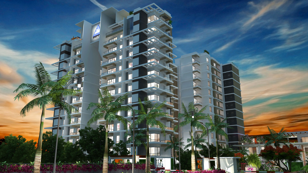 3 bhk flats floor plan