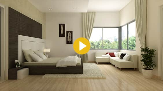 Advaitha Aksha Living Room - Luxury Flats in Koramangala, Bangalore